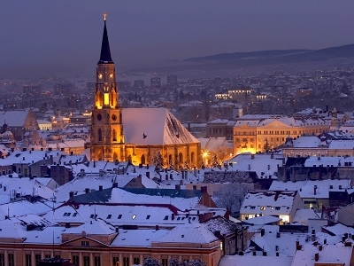 St. Michael's Cathedral In Cluj