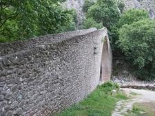 Stone Arch Bridge - Portaikos River - Pyli - Trikala