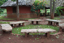 Stone Bench In Nrityagram