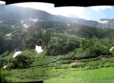 Stoney Indian Pass Trail - Glacier - Montana - USA