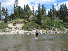 Stoney Indian Pass Trailviews - Glacier - Montana - USA