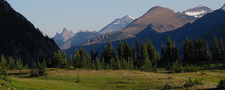 Stoney Indian Peaks - Glacier - USA