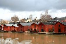 Storage Houses In Porvoo - Finland