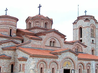 St. Panteleymon Church In Ohrid