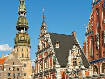 St Perets Church In Riga
