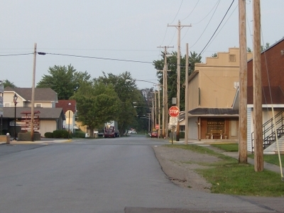 Street In  Lakeview Ohio