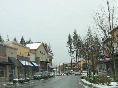 Street In The Mill Creek Town Center