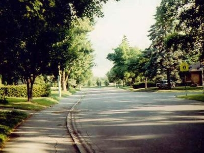 Street In  Riverview  Park