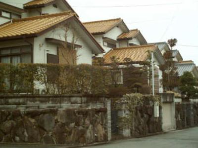 Street In  Sanda