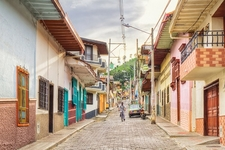 Street In Ciudad Bolivar - Antioquia Colombia