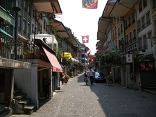 Street In Thun Old Town