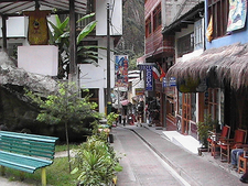 Street Of Aguas Calientes