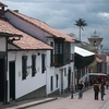 Street Of La Candelaria In Bagota