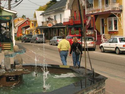 Street Views Of Baie-Saint-Paul