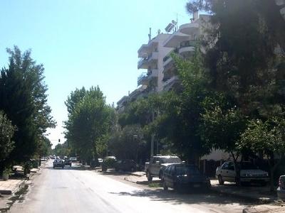 Street In  Kalamaria