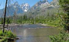 String Lake Trailhead - Grand Tetons - Wyoming - USA