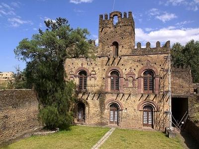 Mentewab's Castle @ Fasil Ghebbi ET Gondar