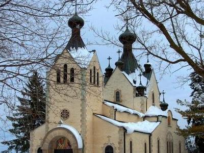 St .  Sava  Serbian  Orthodox  Monastery  Church