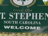 St Stephen S C  Sign