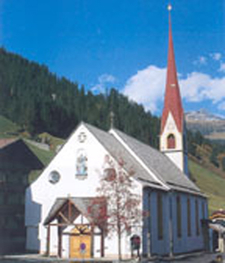 St Thomas Church Tux Tyrol Austria