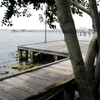 Stuart . Florida .riverwalk .before