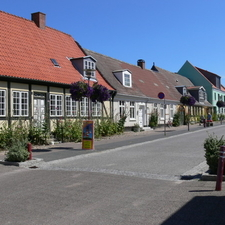 Old Houses In Stubbekøbing, Falster