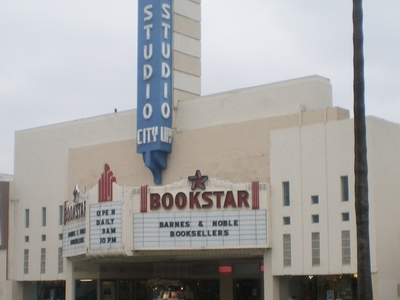 Studio  City  Theater Converted Into  Book  Store