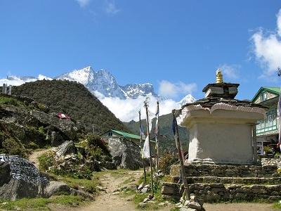 Stupa @ Khumjung Village - Solukhumbu - Sagarmatha NP