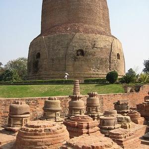 Stupas Around The Dhamekh Stupa