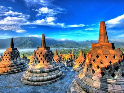 Stupas Of Borobudur
