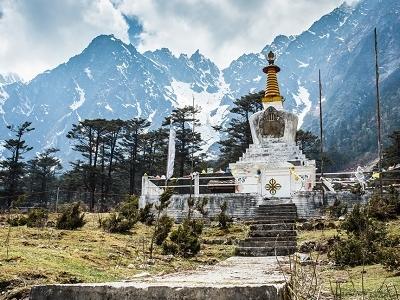 Stupa @ Yumthang In Sikkim