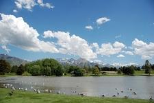 Sugarhouse Lake & Wasatch Range UT