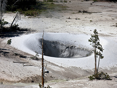 Sulphur Caldron At Yellowstone