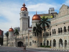 View Of Sultan Abdul Samad Building