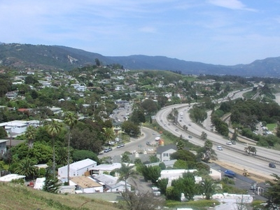 Summerland As Seen From The Top Of Ortega Hill 2006