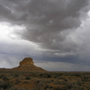 Summer Thunderstorms Over Fajada Butte And The Fajada Gap