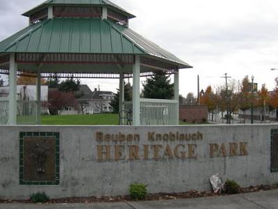 Sumner     Reuben  Knoblauch  Heritage  Park