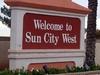 Sun  City  West Entrance Sign