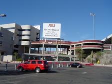 Sun Devil Stadium In Tempe