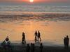 Sun Down At Tithal Beach