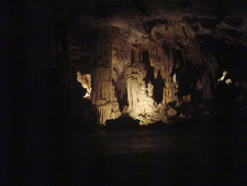 Sunken Gardens Inside Lehman Caves
