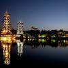 Sun & Moon Pagodas In Guilin
