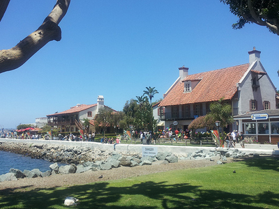 Sunny Day At Seaport Village