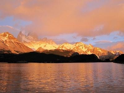 Sunrise At Laguna Capri - El Chalten - Argentina