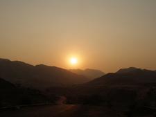Sun Set At Bawangaja