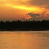 Sunset At Boeng Kak Lake