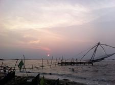 Sunset At Fort Kochi