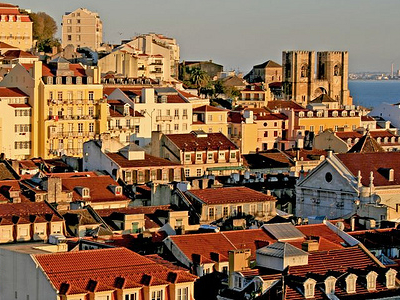 Sunset At Lisboa - Portugal