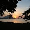Sunset At Manado Tua Island