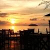 Sunset At Tanjung Aru Beach